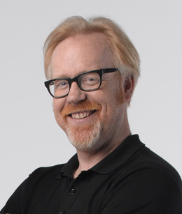 Adam Savage's Headshot