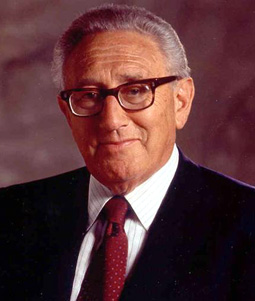 Henry Kissinger's Headshot