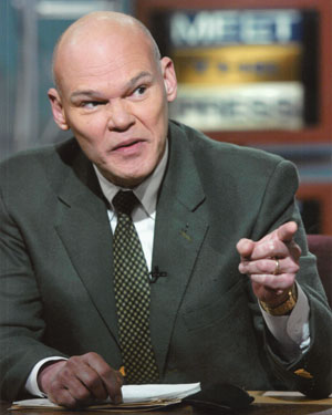 James Carville's Headshot