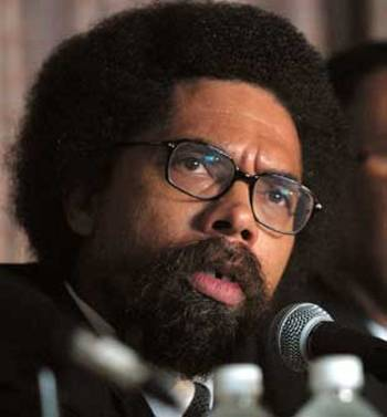 Cornel West's Headshot