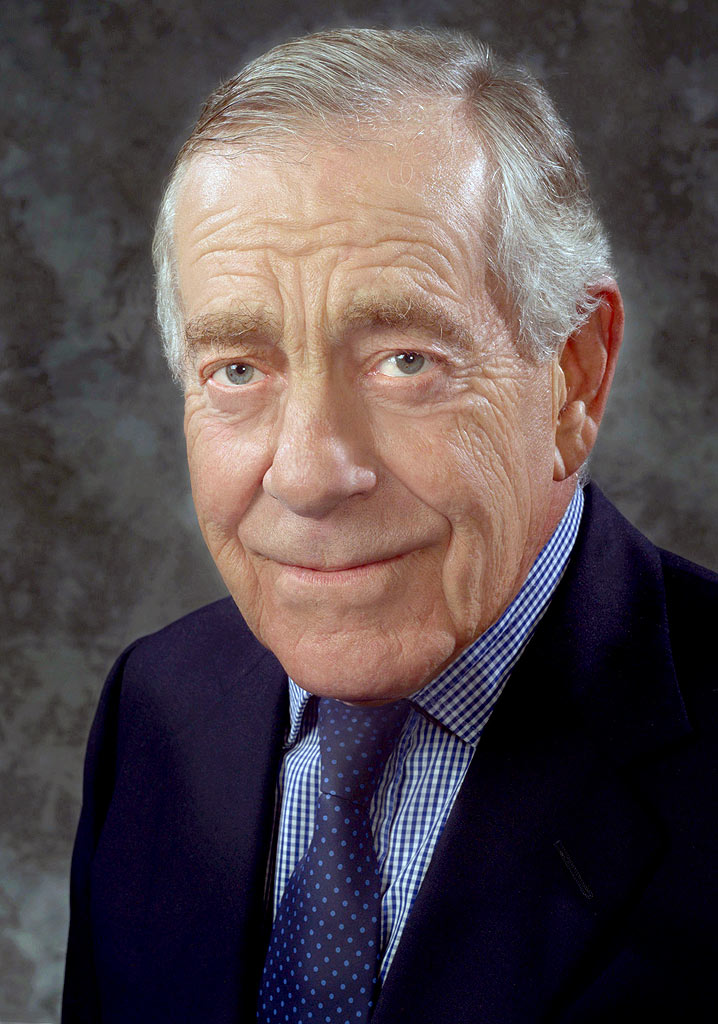 Morley Safer's Headshot