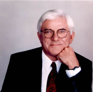Phil Donahue's Headshot