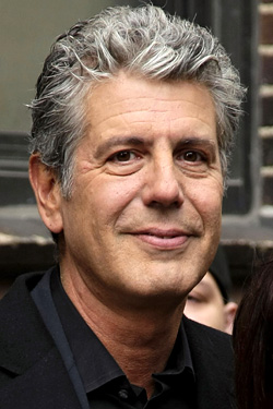 Anthony Bourdain's Headshot