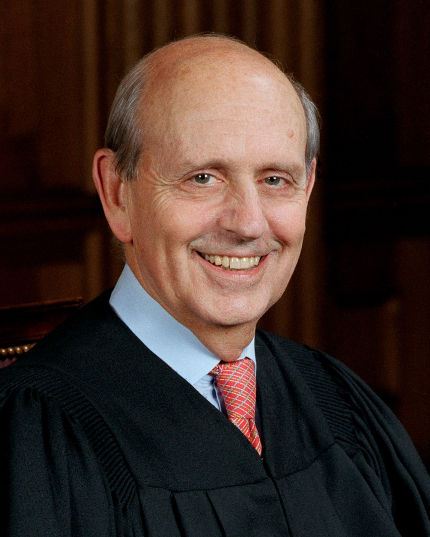 U.S. Supreme Court Justice Stephen Breyer's Headshot