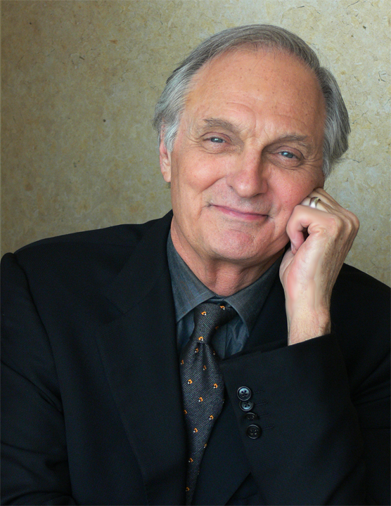 Alan Alda's Headshot