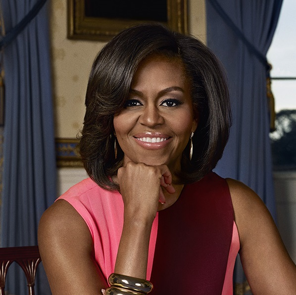 Michelle Obama's Headshot
