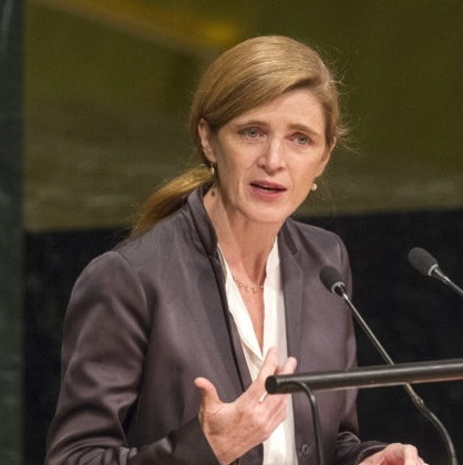 Samantha Power's Headshot