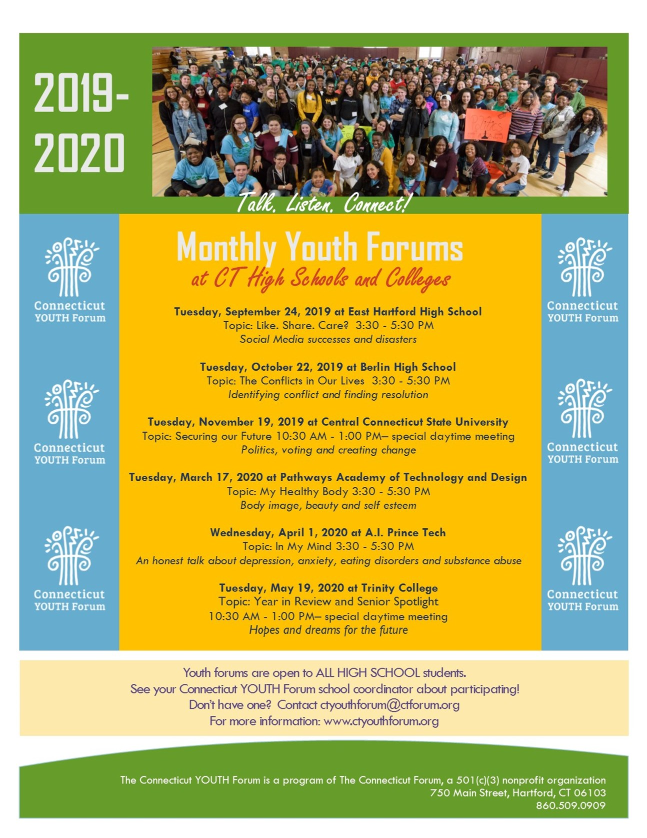 The Connecticut Forum - The Connecticut Youth Forum